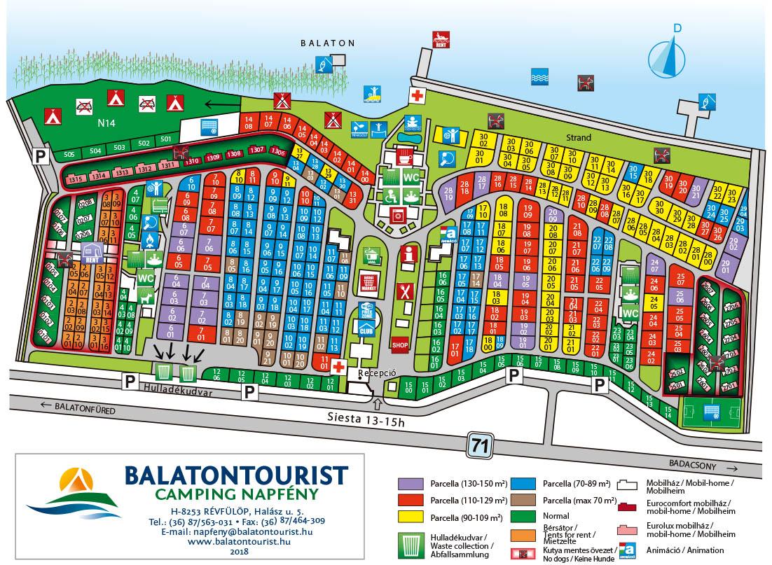balaton révfülöp térkép Balatontourist: Kemping térképek balaton révfülöp térkép